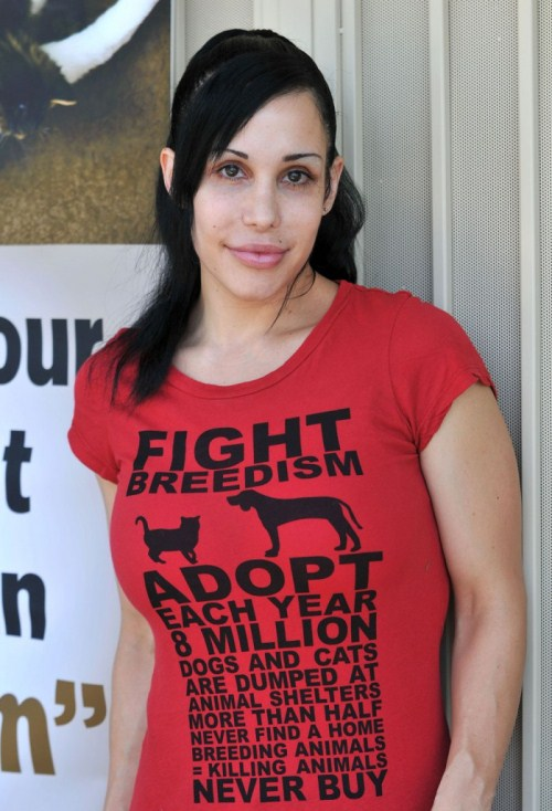 "Octomom Nadya Suleman: Life Is a ""Piece of Poop!"""