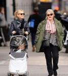 Naomi Watts, son Samuel and Her Mother in NYC