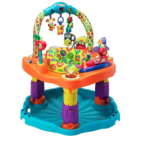 Daddy Review: Evenflo ExerSaucer BabySteps