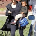 Sandra Bullock Picks Up Louis At School in Studio City
