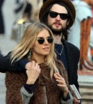Sienna Miller and Tom Sturridge were spotted out and about in Venice (November 3).