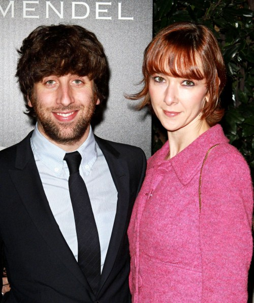 Simon Helberg & Wife Jocelyn Towne