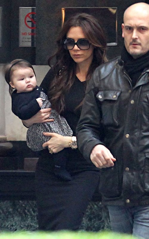 Victoria Beckham out in London January 13