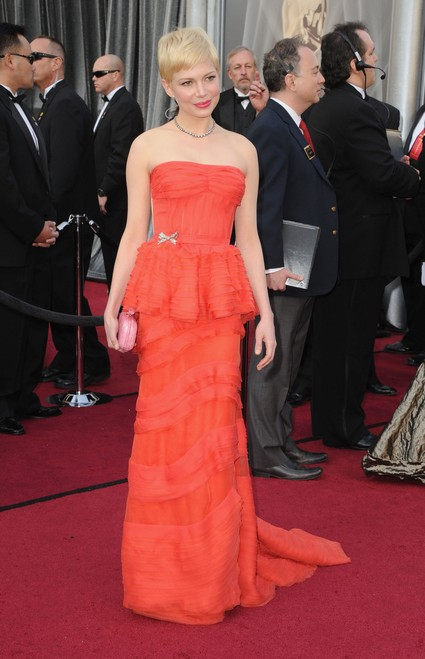 Michelle Williams Daughter Chose Her Oscar Gown