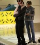 Kristin Cavallari Touches Down At LAX on February 15 2012
