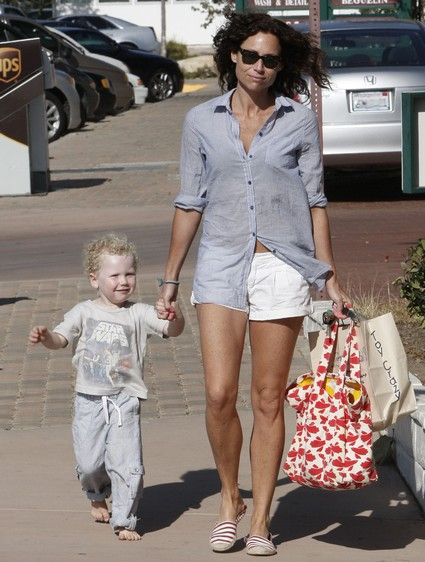 Revealed: The Father of Minnie Driver's Son Henry!