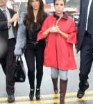 Reality star Kourtney Kardashian spotted looking at some retail locations for lease in Beverly Hills, CA.