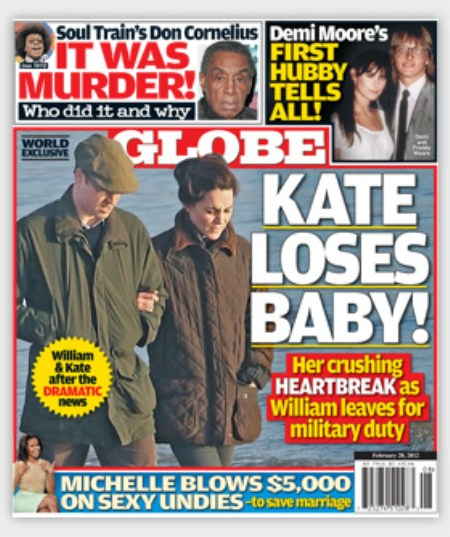 Kate Middleton and Prince William's Miscarriage Hell (Photo)
