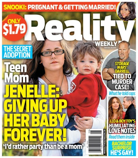 Teen Mom Jenelle Evans' Secret Adoption Plans, She is Giving Up Her Son!
