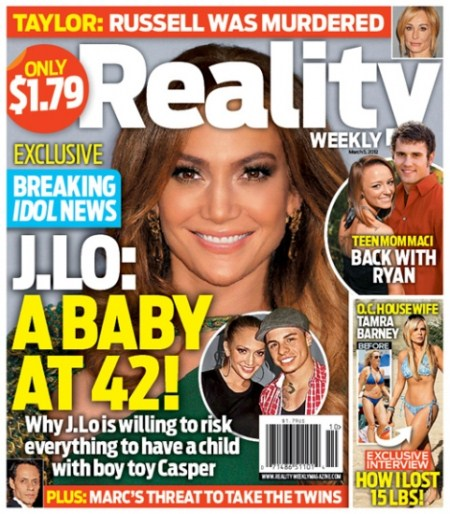 Breaking Idol New: A Baby for Jennifer Lopez and Casper Smart? (Photo)