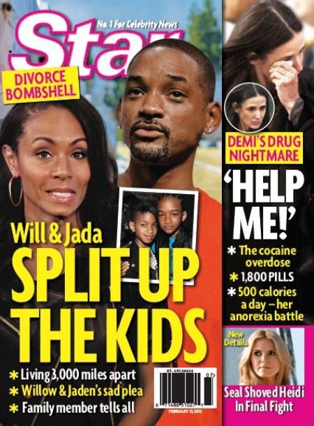 Will Smith & Jada Pinkett-Smith Divorcing and Splitting The Kids (Photo)