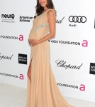 Alessandra Ambrosio arrives at the 20th Annual Elton John AIDS Foundation's Oscar Viewing Party held at West Hollywood Park on February 26, 2012 in West Hollywood, California.