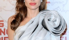"""Angelina Jolie at the Paris premiere of """"In The Land Of Blood And Honey"""" in Paris, France on February 16, 2012"""