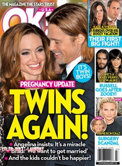 Pregnancy Update: Angelina Pregnant With Twin Boys (Photo)