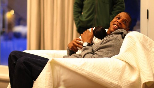 BLUE IVY CARTER MAKES HER DEBUT
