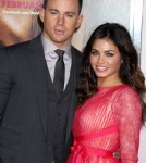 Channing Taum & Wife Jenna Dewan at Th Vow Premiere
