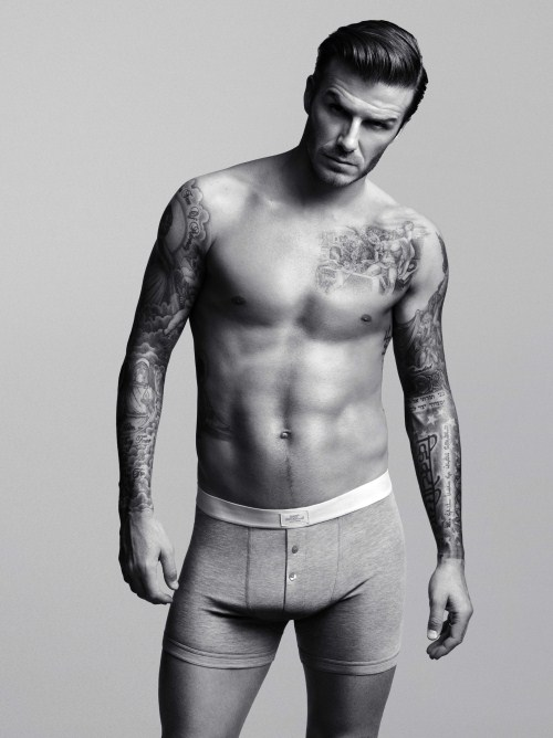 David Beckham H&M Ad