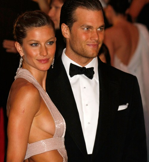 Gisele Bundchen & Tom Brady Christen Son