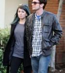 Jackson Rathbone and his girlfriend Sheila Hafsadi