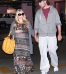 Jessica Simpson and Eric Johnson heading into a medical building in Los Angeles (February 23)