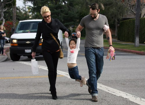 Katherine Heigl's Family Fun Day!