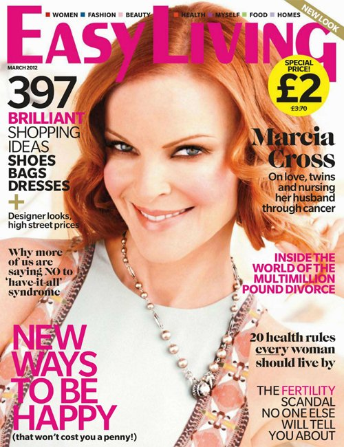 Marcia Cross Covers Easy Living