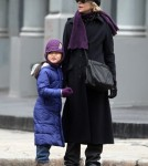 Meg Ryan was out and about with her daughter Daisy True in the Soho area of New York on February 11, 2012.