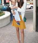 Miranda Kerr and Flynn out in Sydney (February 9)