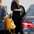 Molly Sims has lunch at The Farm restaurant in Beverly Hills - Feb 17 2012