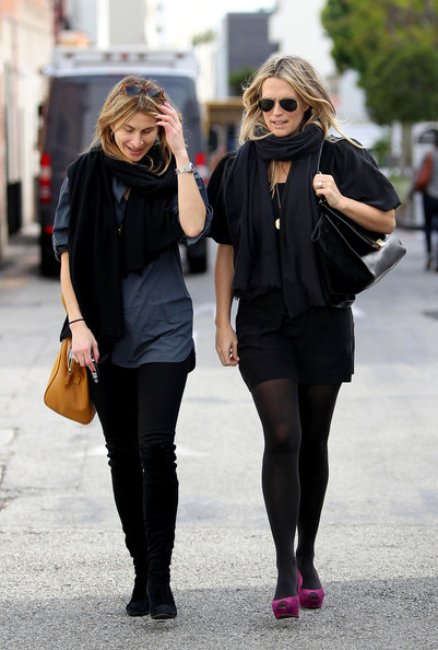 Molly Sims has lunch at The Farm restaurant in Beverly Hills – Feb 17 2012