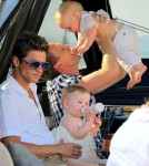 Neil Patrick Harris With David Burkta and their twins