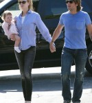Nicole Kidman and Keith Urban out to lunch with Faith Margaret (February 1)