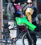Pink, Carey Hart and Willow Go Biking in Venice Beach