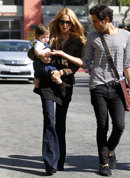 Rachel Zoe & Her Fashionable Tot Do Lunch