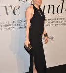 Sienna Miller Debuts Baby Bump at Sienna Miller at the video installation of 'The Ever Changing Face of Beauty' in New York City