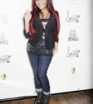 """Snooki Attends """"Team Snookie Boxing"""" which was held in New York City, New York on January 12, 2012."""