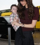 Victoria Beckham at LAX Feb 7