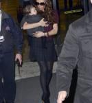 Victoria Beckham arriving at JFK Feb 7