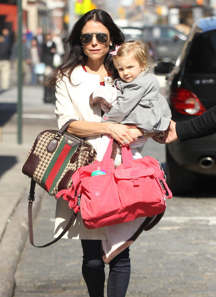 Bethenny Frankel's Soho Date With Daughter