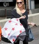 Charlize Theron's First Public Outing With Baby Jackson