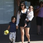 Kourtney Kardashian Sushi Date With Family