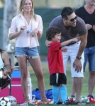 LeAnn Rhimes And Family Head To The Soccer Field!