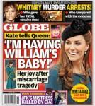 Globe-Magazine-Kate-Middleton-Pregnant - CBL