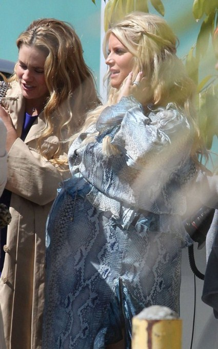 Who Attended Jessica Simpson's Baby Shower?