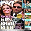Pregnant With Twins Angelina Jolie Agrees To Marry Brad Pitt (Photo)