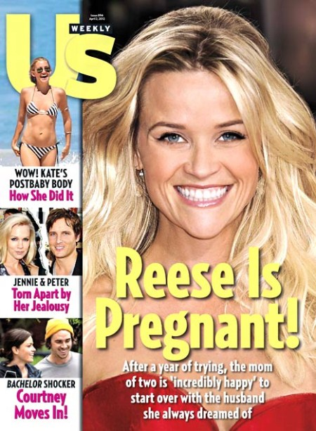 Reese Witherspoon Is Pregnant With Her Third Child (Photo)