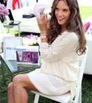 Alessandra Ambrosio Philips Satin Perfect fashion and beauty event 23-03-2012