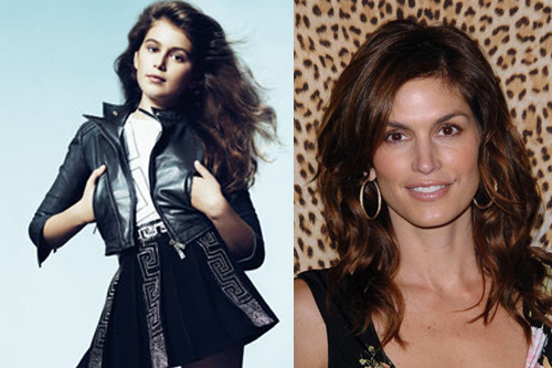 Cindy Crawford Tells Daughter She Stole Her Looks