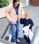 Jennifer Garner Three Weeks After Giving Birth