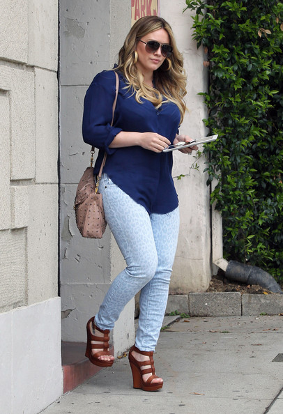 Hilary Duff's First Post-Pregnancy Outing